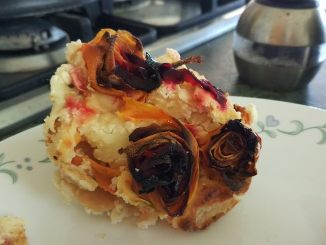 פשטידת גבינות חלומית או פשטידת ורדים