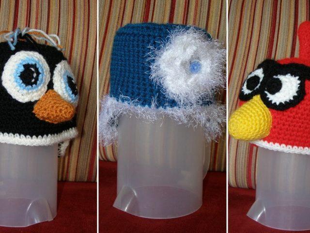 קצת כובעים סרוגים לחורף