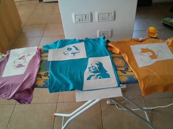 נייר פריזר – עוד חולצות לאורן
