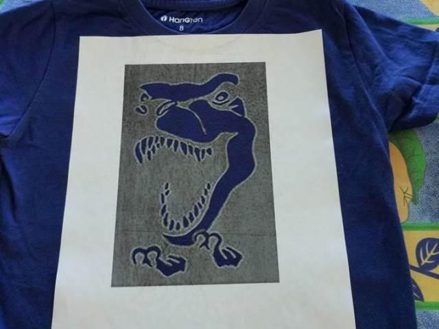 חולצת דינוזאור לאורן