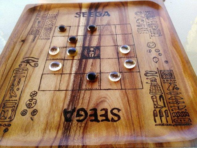 משחק מיצרי עתיק תוצרת בית – SEEGA