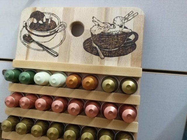 מתקן קפסולות קפה תוצרת בית