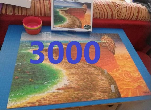 פאזלים של 3000 חלקים