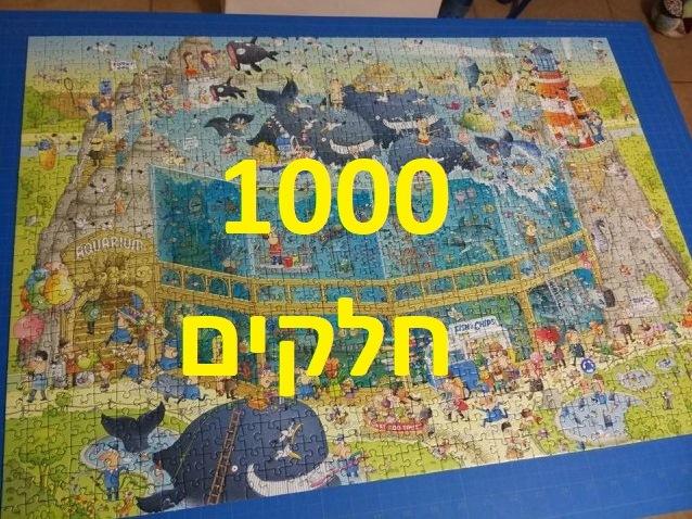 פאזלים של 1000 חלקים