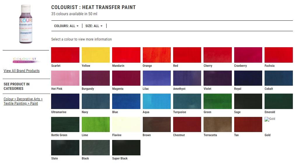 צבע להדפסה על חולצות