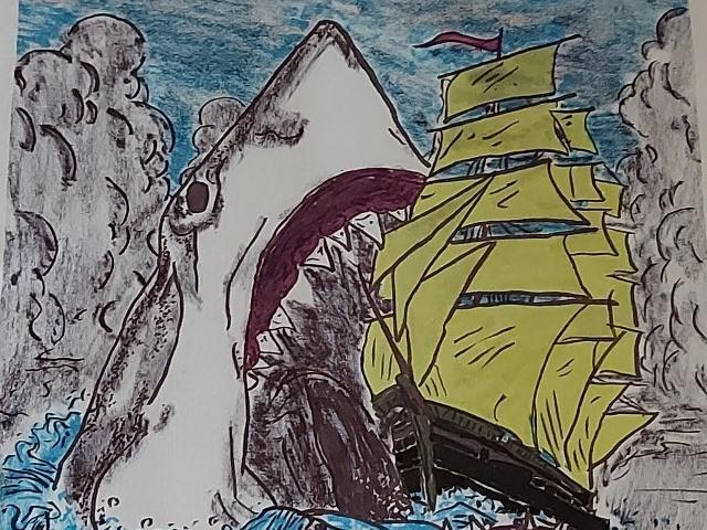 כריש עם שפתון