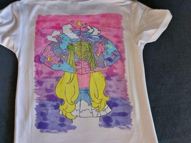 חולצת סובלימציה סיילור מון