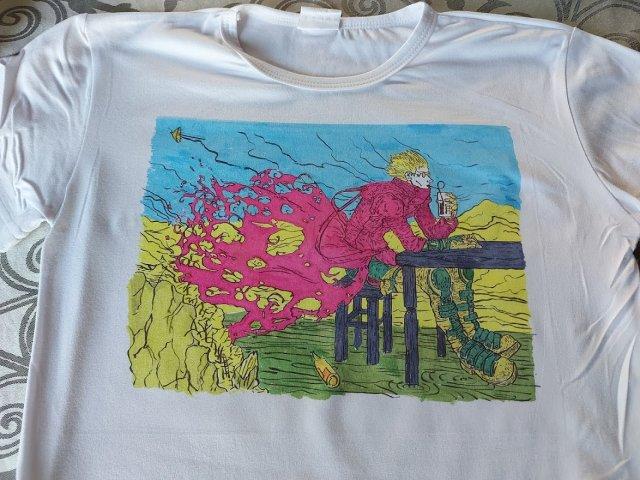 חולצת טריגן בסובלימציה ידנית